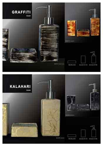 akcesoria Graffiti, Kalahari Glass Design®