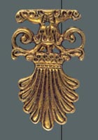 ornament mosiężny 0054