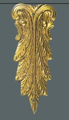 ornament mosiężny 0075